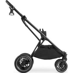 Hauck Kombi-Kinderwagen Vision X Frame, Kinderwagengestell mit schwenk- und feststellbaren Vorderrädern; Kinderwagen schwarz
