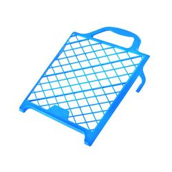 STORCH Abstreifgitter, Kunststoff, blau, 22 x 24 cm