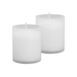 HS Candle Grabkerze (2-tlg), Nachfüllkerze 2er Pack, N1-N5, Ersatzkerze Grablicht 4,8 cm x 6 cm