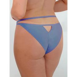 JoJoe brasilianisches Höschen mit Guckloch (blau)
