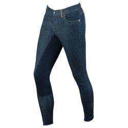 Covalliero Jeans Reithose Denim für Herren, 46, blau