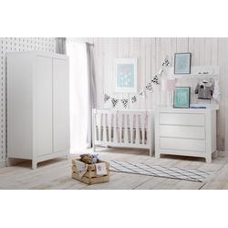 Kinderzimmer-Set Moon | 3 Teilig Kleiderschrank 2-Türig