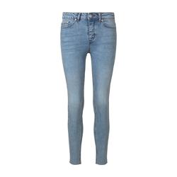 TOM TAILOR MINE TO FIVE Damen Slim Jeans Stone Wash, braun, Gr.32