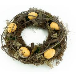 NOOR LIVING Osterkranz Natürlicher Dekokranz, Durchmesser ca. 31 cm