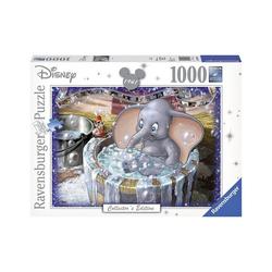 Ravensburger Puzzle Puzzle 1000 Teile, 70x50 cm, Walt Disney Dumbo, Puzzleteile