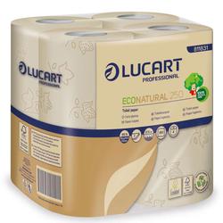 64 Rollen Toilettenpapier aus recycelten Getränkekartons Lucart Eco Natural 2...