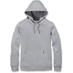 Carhartt Clarksburg Pullover Ladies Sweatshirt, grey, Größe L für Frauen