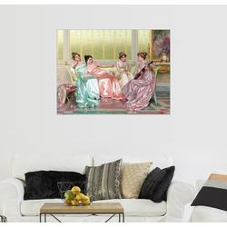 Posterlounge Wandbild, Musikstunde 80 cm x 60 cm