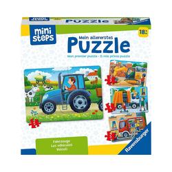 Ravensburger Puzzle ministeps® Mein allererstes Puzzle: Fahrzeuge, Puzzleteile