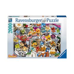 Ravensburger Puzzle Puzzle Gelini auf dem Oktoberfest, 2.000 Teile, Puzzleteile