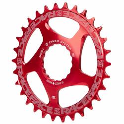 Race Face MTB-Kettenblatt  Rot, Direct Mount, Cinch, für 10/11/12-Fach