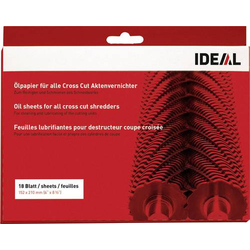 Ideal 9000631 Öl-Blätter für Aktenvernichter 18 Blatt