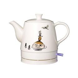 MOOMIN Wasserkocher 19130003 Keramik Wasserkocher by ADEXI Wasserkocher in Teekannen-Form, Mumin Design,Lake Design, 0.80 l, 1750 W
