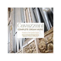 Federico Del Sordo - CAVAZZONI: COMPLETE ORGAN MUSIC (CD)