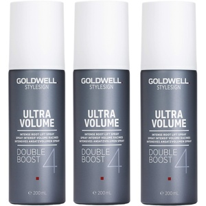 3er Intensives Ansatzvolumen Spray Goldwell Stylesign 4 Ultra Volume Double Boost 200 ml
