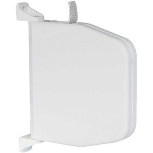 Gurtwickler Aufputz mit Scharniersystem für Rolladen Aufschraubwickler für Rollladen weiß ohne Gurt