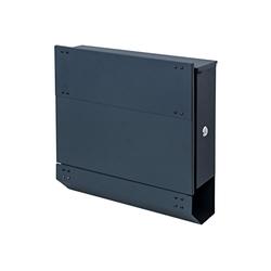 MCW Briefkasten MCW-B33, Zylinderschloss, Inkl. 2 Schlüsseln und Montagematerial