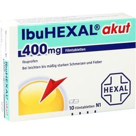 Hexal IbuHexal  akut 400 mg Filmtabletten 10 St.