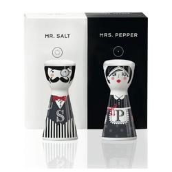 Ritzenhoff Salz- / Pfefferstreuer Mr. Salt & Mrs. Pepper Kathrin Stockebrand 2-tlg., (1-tlg)