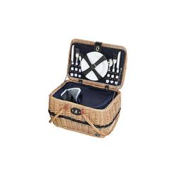 Cilio Picknickkorb Picknickkorb für 4 Personen IDRO, Picknickkorb