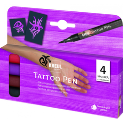 Kreul Tattoostift Tribals 4er Set Tattoo Pen