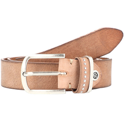 b.belt Fashion Basics Cleo Gürtel Leder beige 95 cm