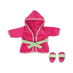 Bayer Puppenkleidung Puppenkleidung Bademantel pink 38 cm