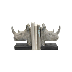 KARE Buchstütze Buchstütze Rhino 2Set