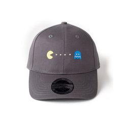 Bioworld Baseball Cap PACMAN CAP SNAPBACK GHOST GRAU Neu