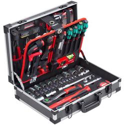 meister Werkzeugset Koffer, (131-St), mit Qualitätswerkzeug von Knipex & Wera