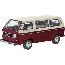 Schuco VW T3a Bus rot/weiß 1:18 Modellauto