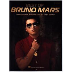 Bruno Mars Best Of Easy Piano -For Piano- (Book) als Buch von