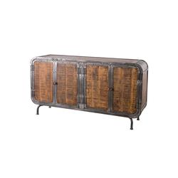 MÖBEL IDEAL Sideboard, im Industrial Style - 160 cm Breit / 85 cm Hoch