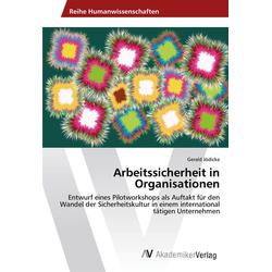Arbeitssicherheit in Organisationen als Buch von Gerald Jödicke