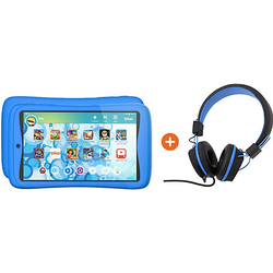 Bundle: Kurio Tab Connect Toggo, blau + Kopfhörer