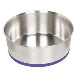 Nobby Edelstahlnapf Heavy, rutschfest für Hunde, Fassungsvermögen: 300 ml
