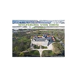 Wolfsburg von oben (Wandkalender 2021 DIN A3 quer)