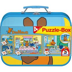 Die Maus. Puzzle-Box 2 x 26 2 x 48 Teile
