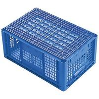 1658372 Stapelbehälter lebensmittelgeeignet (L x B x H) 600 x 400 x 420mm Blau 1St.