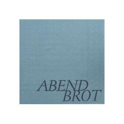 """Räder Design Papierserviette DINING SERVIETTEN """"ABENDBROT"""""""