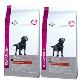 Eukanuba Breed Specific Labrador Retriever 2 x 12 kg