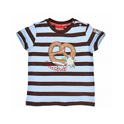BONDI T-Shirt BONDI Jungen T-Shirt Lausbub mit Brezel 92