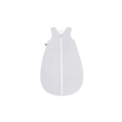 Julius Zoellner Sommerschlafsack in grau mit Muster Spots grey, 50 cm