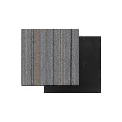 Teppichfliese Krakau, Kubus, quadratisch, Höhe 6 mm grau