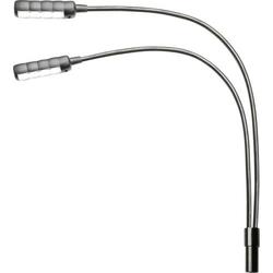 Adam Hall LED 2 ULTRAXLR 4 Schwanenhals-Lampe