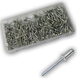 Vintec Blindnieten 400-tlg Sortiment 2.4 - 4.8 mm Setbox Zugdornnieten Popnieten