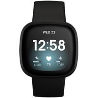 Fitbit Versa 3 schwarz/aluminium schwarz