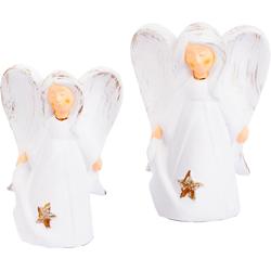 VALENTINO Wohnideen Engelfigur Engel Martha (Set, 2 Stück)