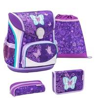 Belmil Cool Bag 4-tlg. Purple Butterfly