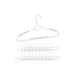 relaxdays Kleiderbügel Antirutsch Kleiderbügel 20er Pack